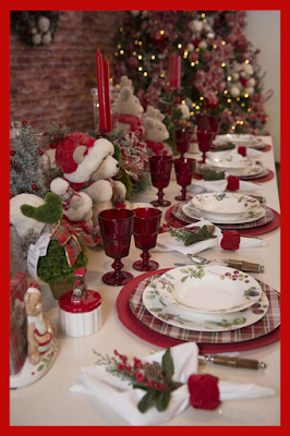 Christmas table settings and decorations - buddy blog ideas