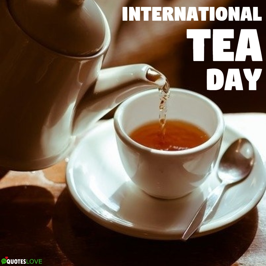 International Tea Day 2019 Images, Poster