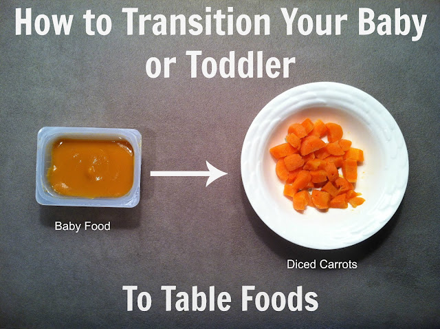 Age To Transition From Baby Food To Table Food