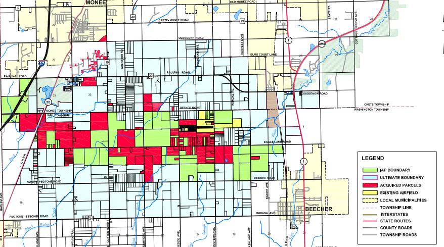 Suburban Chicago Map.South Suburban Airport Third Airport For Chicago Empehi Com A
