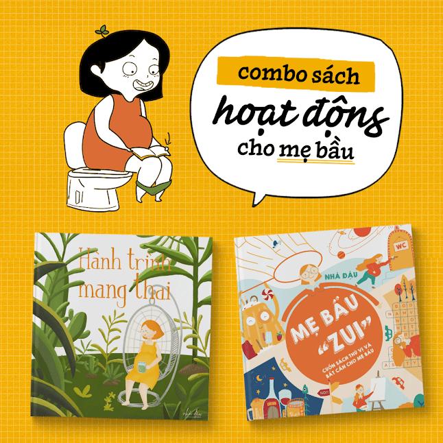 """[A116] Gợi ý 5 địa chỉ mua sách thai giáo """"Hành trình mang thai"""" uy tín"""