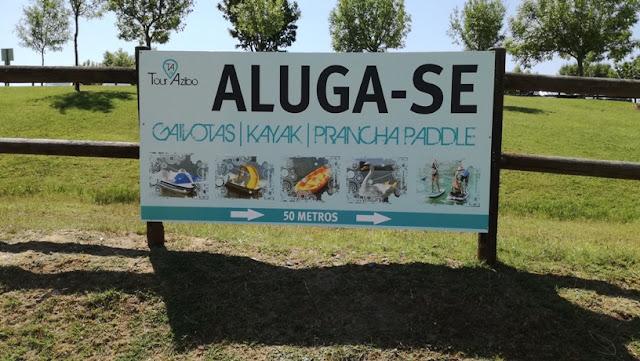 Placa aluguer de Gaivotas, Kayaks Pranchas de Padle
