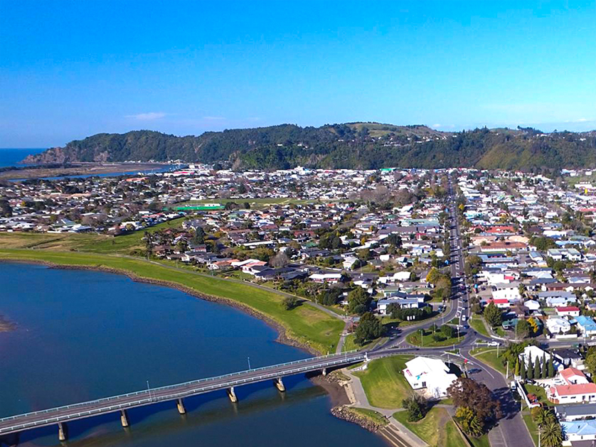 Whakatane, the sunniest place in New Zealand.