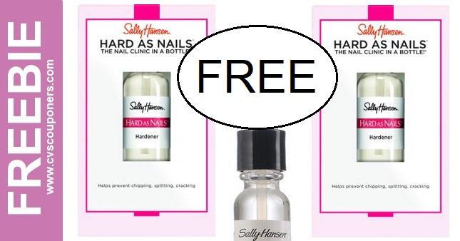 FREE Sally Hansen CVS Deal Idea 6-16 6-22