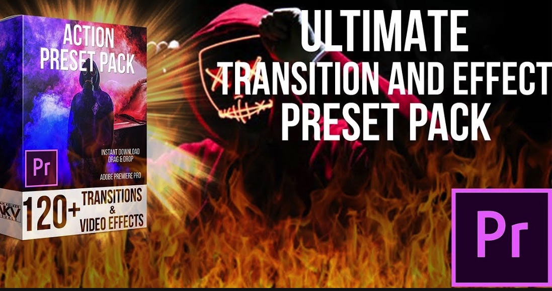 Transition Preset Pack Bundle for Premiere Pro Free Download