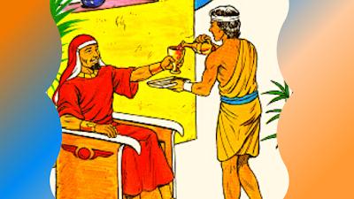 José comp escravo servindo Potifar