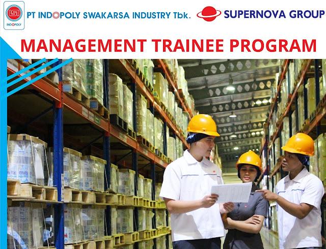 Lowongan Kerja Karyawan PT Indopoly Swakarsa Industry, Tbk. (ISI)   Program Management Trainee Tahun 2019