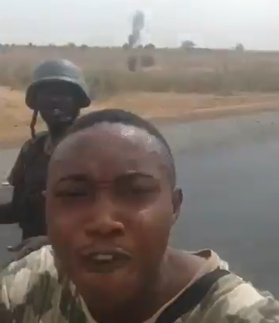 Airforce killed ground soldiers thinking they were Boko Haram - Men in military uniform claim (Video)