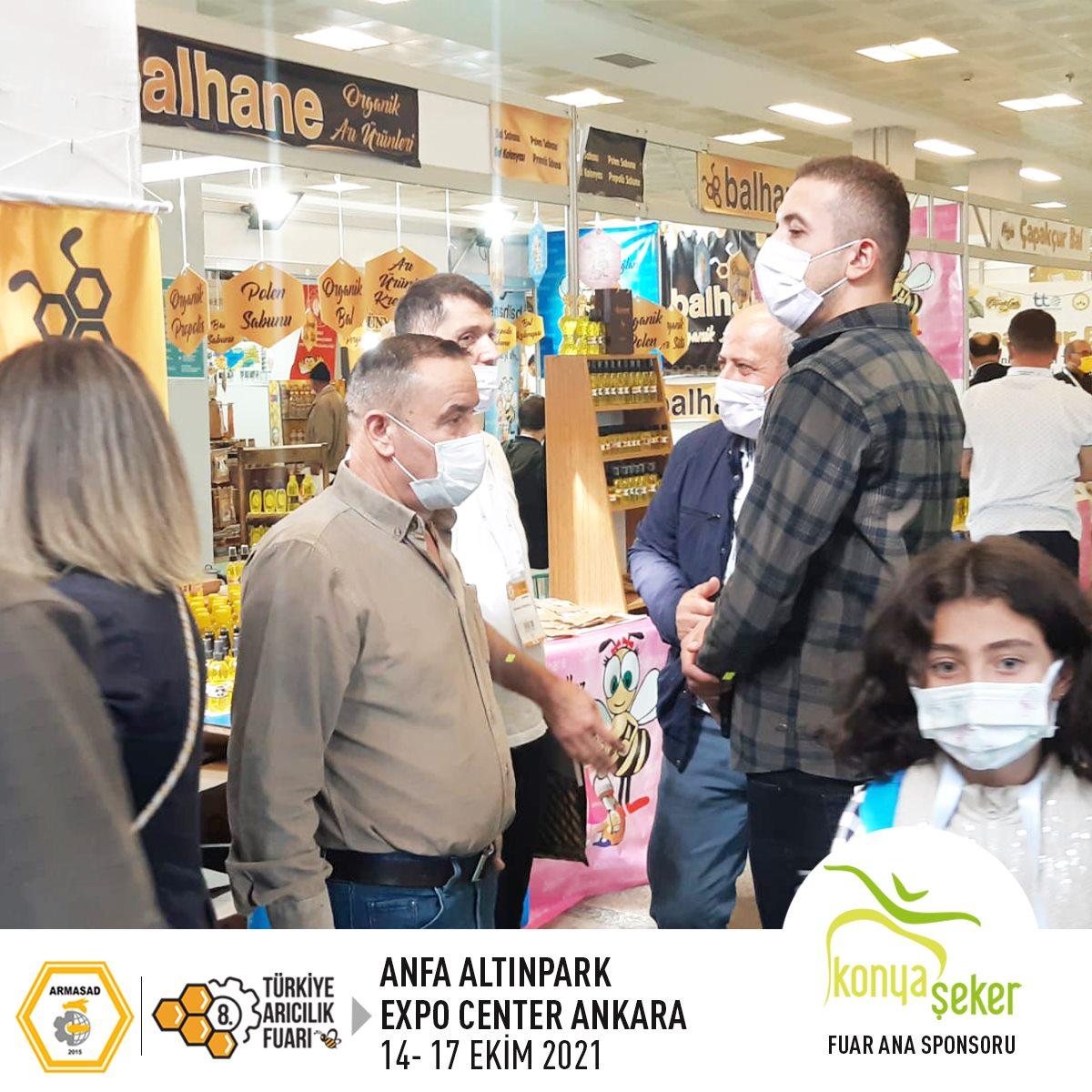 Armasad 8.Türkiye Arıcılık Fuarı 2021 ANKARA Altınpark fuar alanı, balhane