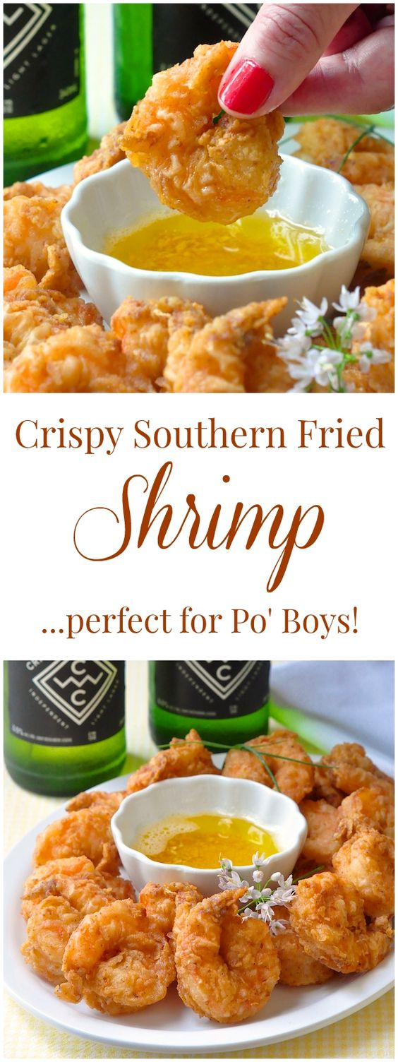 SOUTHERN FRIED SHRIMP PO' BOY #recipes #dinnerrecipes #dinnerideas #newfoodideas #newfoodideasfordinner #food #foodporn #healthy #yummy #instafood #foodie #delicious #dinner #breakfast #dessert #yum #lunch #vegan #cake #eatclean #homemade #diet #healthyfood #cleaneating #foodstagram