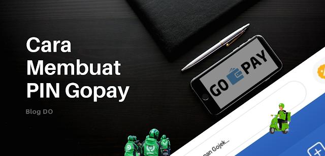 Cara Membuat PIN Gopay, Ubah PIN gopay, Ganti PIN gopay, pin gopay