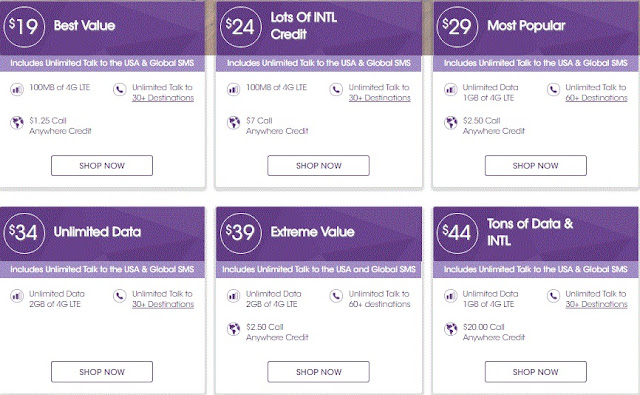 ultramobile Prepaid Cell Phone Plans