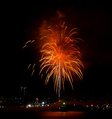 Fireworks Cape Town with Canon EOS 700D EF-S 18-135mm lens