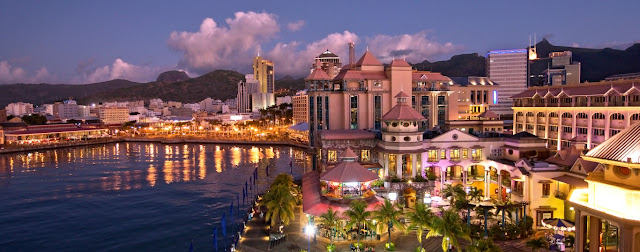 Mauritius, Port Louis, Caudan Waterfront, Abendstimmung, © MTPA Bamba