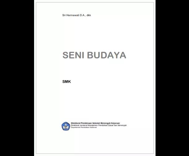 Buku SMK Seni dan Pariwisata - Seni Budaya