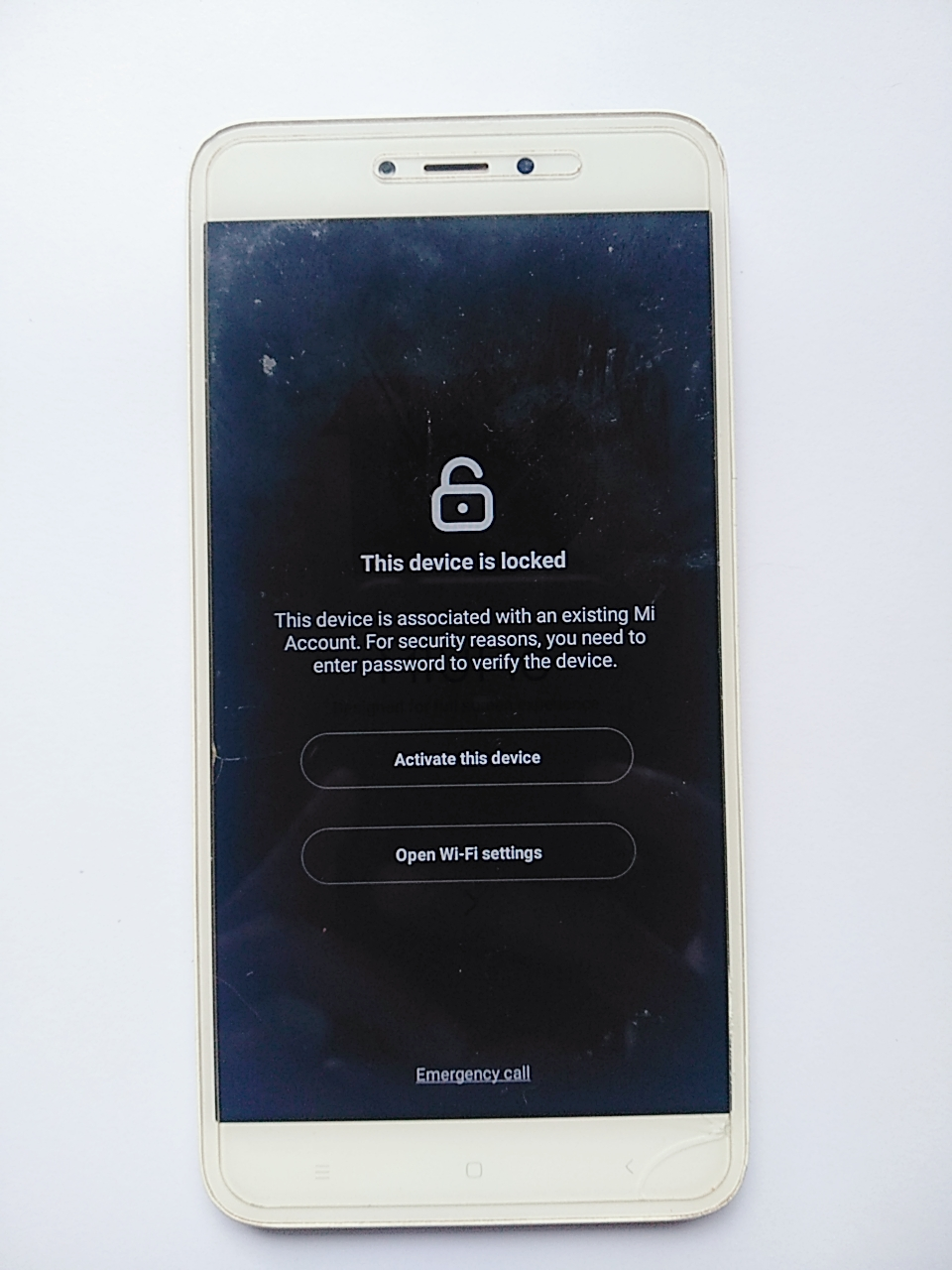 ByPass Mi Account Redmi Note 5A Ugglite
