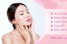 Contoh Banner Skin Care Vektor CDR