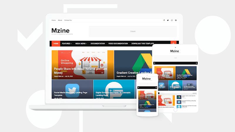 MZine Responsive Premium