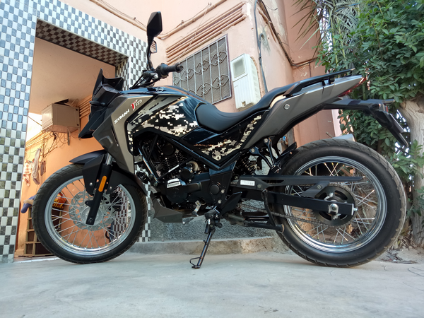 طريقة اقتحام (روداج) دراجة نارية Rodage