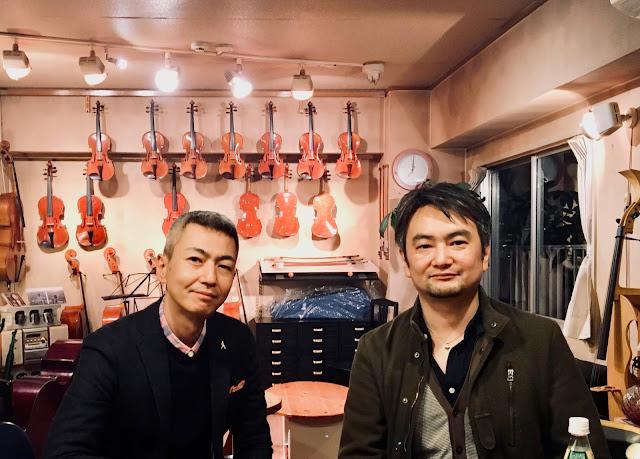 喜多直毅(ヴァイオリン)西嶋徹(コントラバス) 2017年1月13日@松本弦楽器