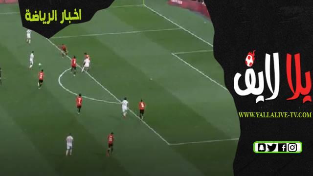 ملخص اهداف مباراة مصر واسبانيا اليوم
