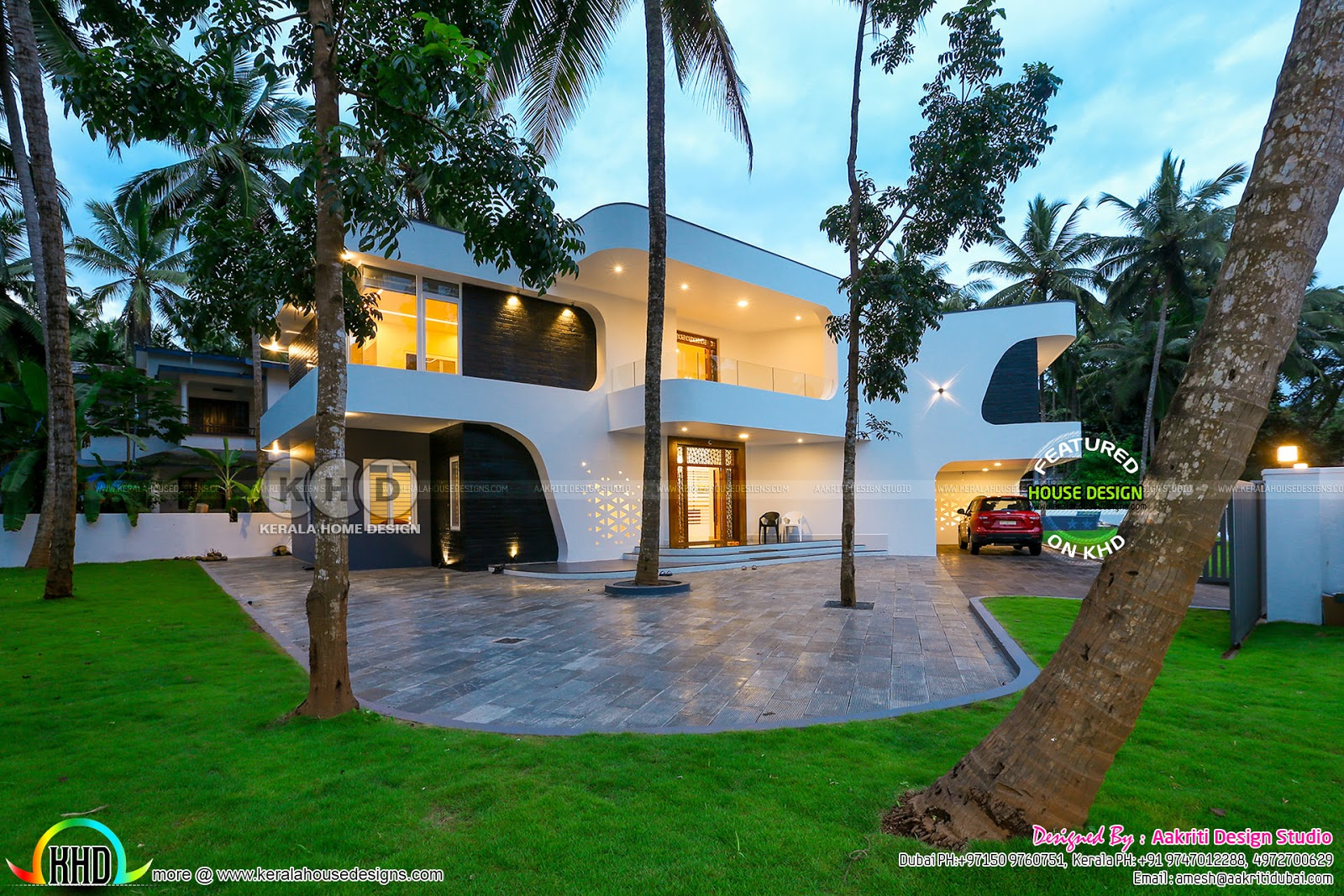 Majestic 5 Bedroom Finished Home Kerala Home Design And Floor Plans
