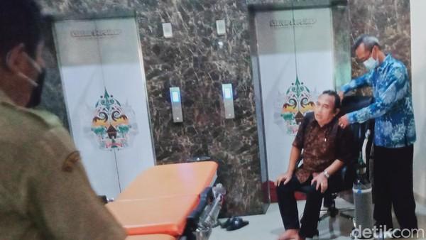 Kondisi Terkini Eks Pimpinan yang Tersengal-sengal di Gedung DPRD Klaten