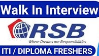 RSB Transmissions India Ltd Recruitment For Diploma, BE and B.tech Candidates For Trainee Engineer Position