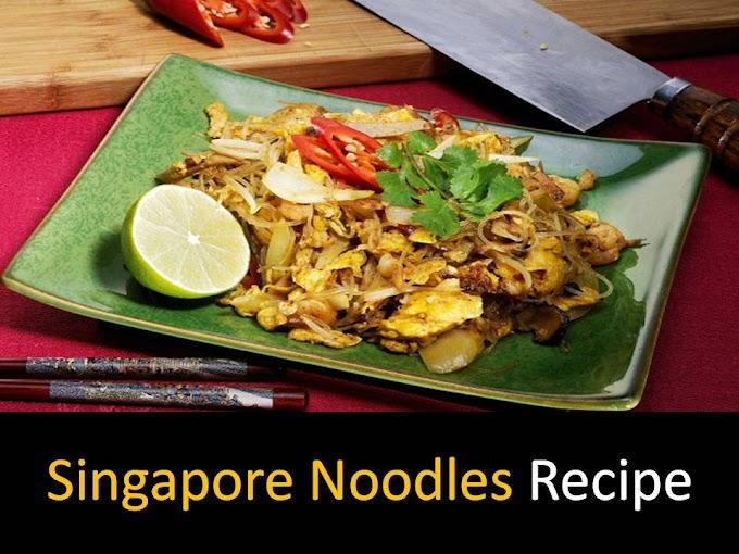 Delicious Singapore noodles recipe