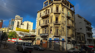Building beside Lebanese Red Cross
