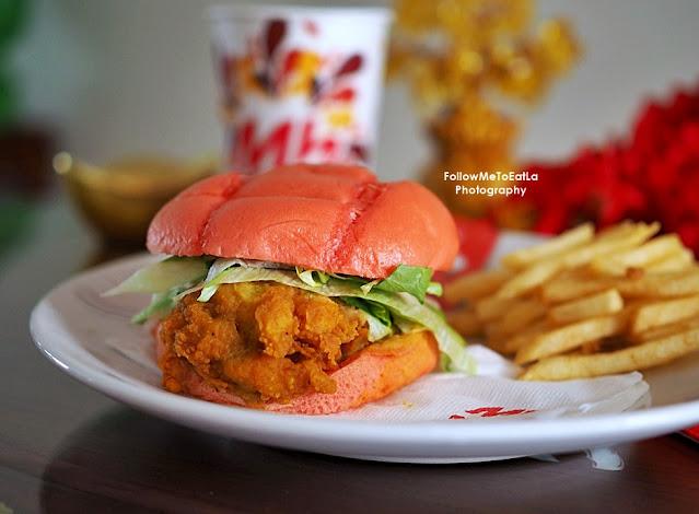Egg-stra ONG Burger Combo