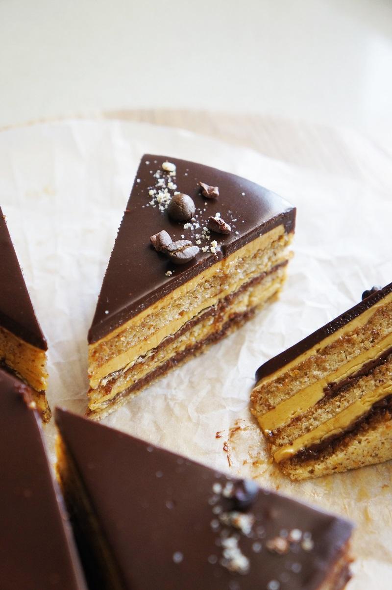 Hazelnut Opera Cake Cakelets Amp Doilies