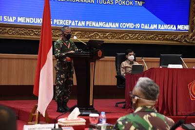 Optimalkan Bekal Kesehatan TNI Guna Mendukung Kesiapan Tugas Pokok