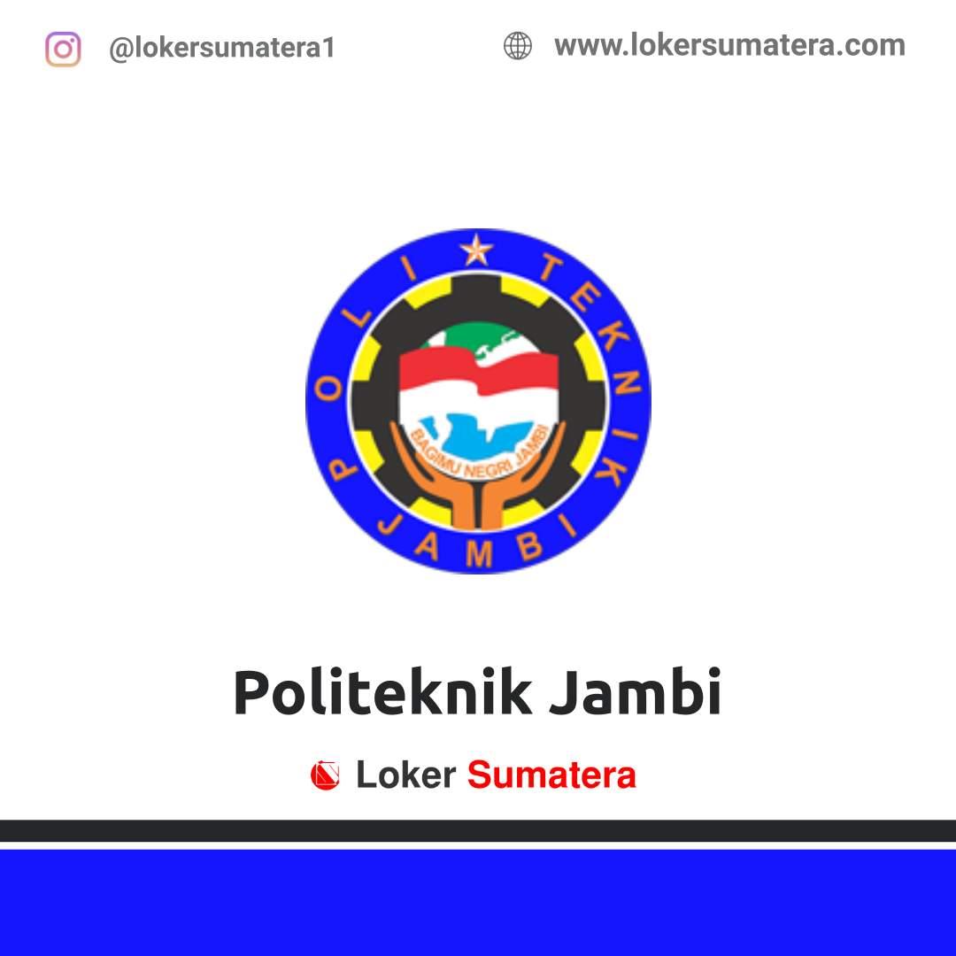 Lowongan Kerja Jambi: Politeknik Jambi Maret 2021
