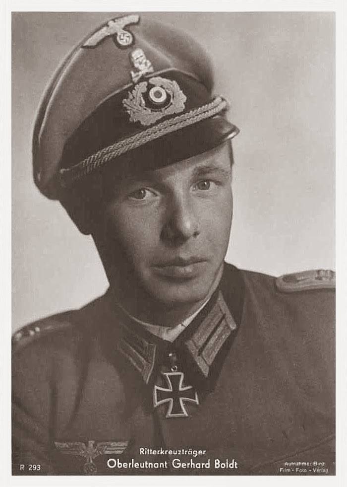 Gerhard Boldt Ritterkreuzträger Knight Cross Holder Postcard