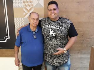Presidente Salomão e o carnavalesco Ney Junior