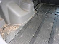 車内のゴミ