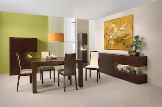 ruang+makan+hijau+sederhana Desain Ruang Makan Hijau Ciptakan Nuansa Alami