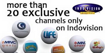 Daftar Channel Paket Galaxy Indovision Terbaru