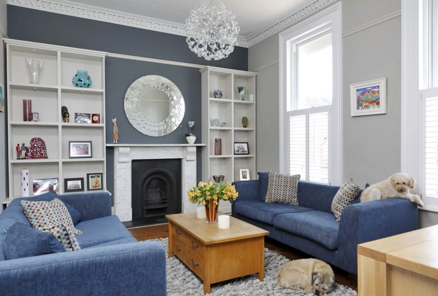 10 Ideas Of Living Room Choice With Blue Sofa Dream House