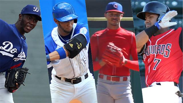 Álvarez, Gurriel, Gutierrez e Ibañez (de izq. a der.) son varias de las estrellas que nos representarán en un futuro no muy lejano en las Grandes Ligas