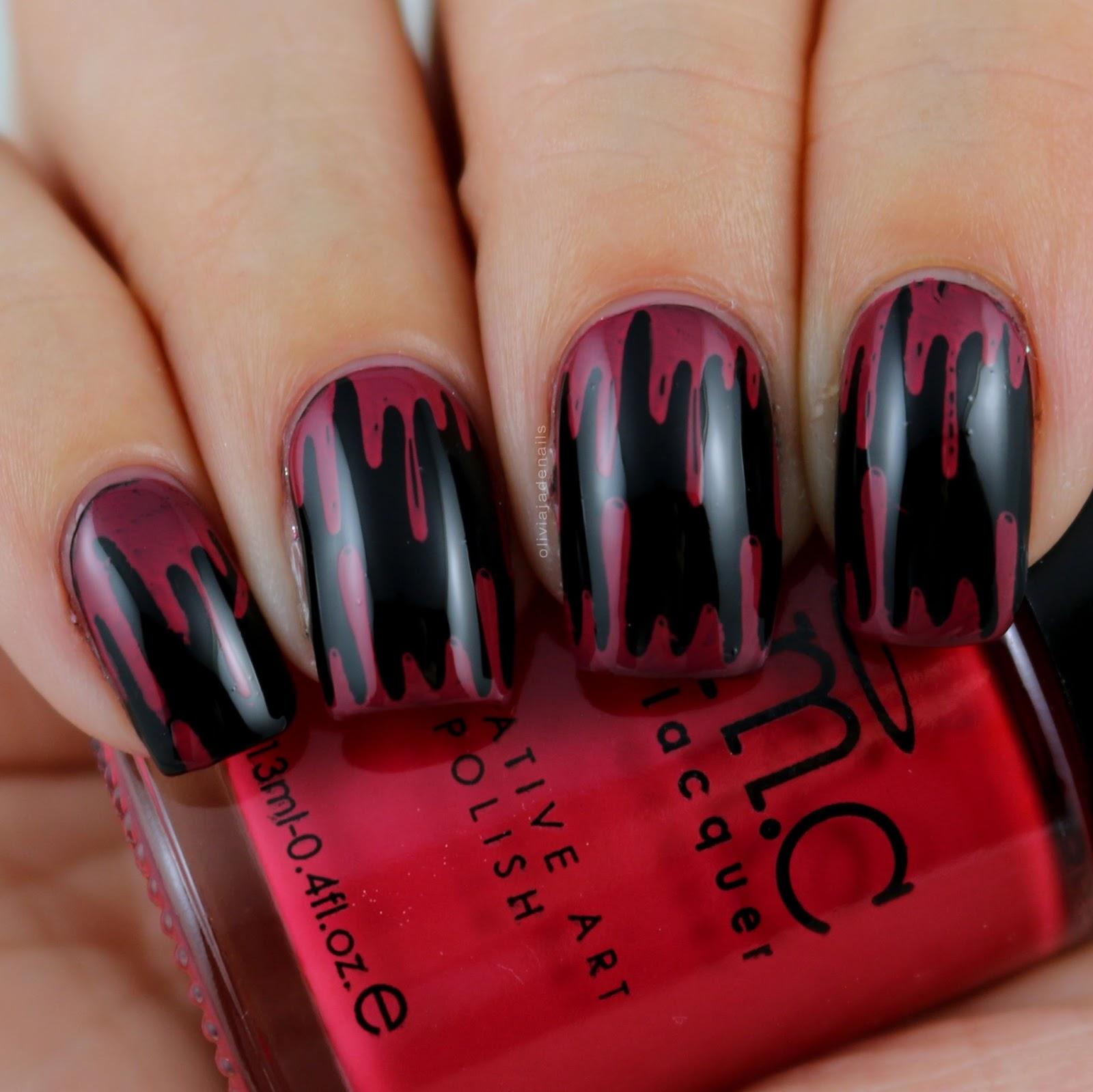 Olivia jade nails 26 great nail art ideas challenge friday 13th here prinsesfo Choice Image