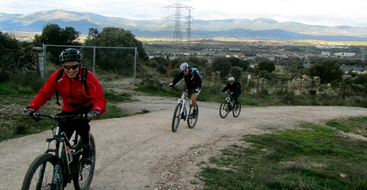 MTB por la Sierra de Hoyo de Manzanares - Alfonsoyamigos