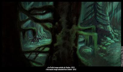 Benjamin Lacombe ilustración Bosque