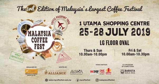 Malaysia Coffee Fest 2019