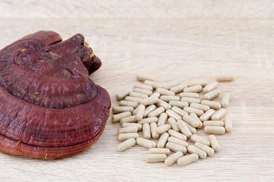 Reishi mushrooms health supplements