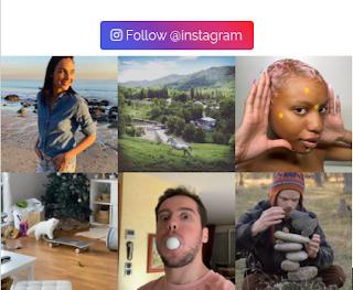 Mobile Responsive Instagram Feed Widget