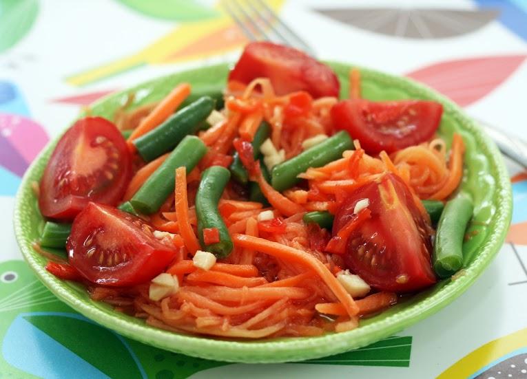 Resep Salad Wortel Pepaya Segar