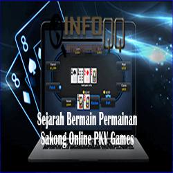 Sejarah Bermain Permainan Sakong Online PKV Games