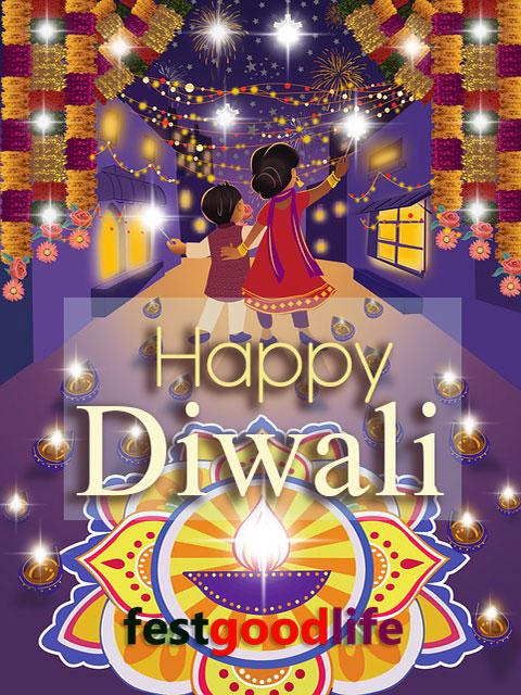 diwali cards sms